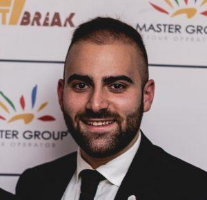Filippo Cutrupi nuovo logistic manager di Master Group Tour Operator