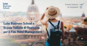 Luiss e Scuola italiana di ospitalità lanciano il corso flex executive in hotel management