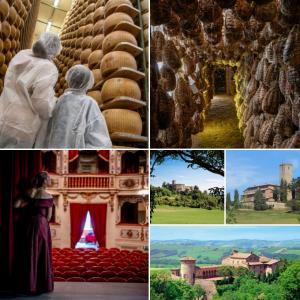 Food Valley, itinerari tra parmigiano, culatello, i Castelli del Sale fino al festival  @cquechepassione