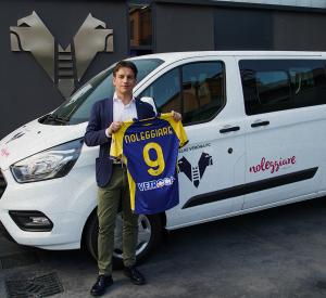 Noleggiare è il nuovo premium partner dell'Hellas Verona