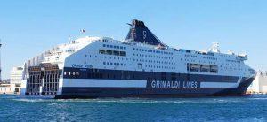 Grimaldi Lines: riduzione del 15% sulle tratte italiane