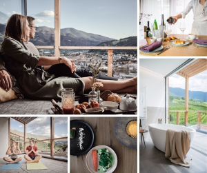 Haller Suites & Restaurant, rigenerarsi tra i filari di vite, le escursioni e il buon cibo