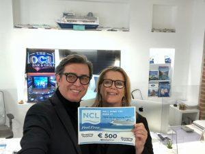 Sono le adv Home & Away di Pavia e crocierissime.it  le vincitrici del concorso Ncl Air