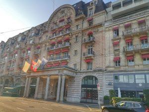 """Il Lausanne Palace: storia e tradizione a due passi dal """"Flon"""""""