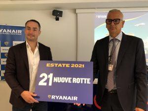 Lo slancio Ryanair dalla Puglia con 21 nuove rotte tra estate e inverno