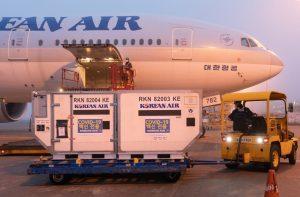 Korean Air: accordo con l'Unicef per il trasporto dei vaccini Covid-19
