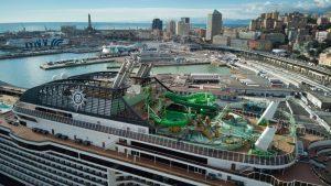 Le crociere ripartono con Msc Grandiosa: la nave è salpata ieri da Genova
