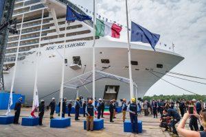 Fincantieri consegna a Msc la nuova Seashore