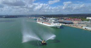 Msc segna la ripartenza delle crociere anche nel Regno Unito. Salpata la Virtuosa da Southampton