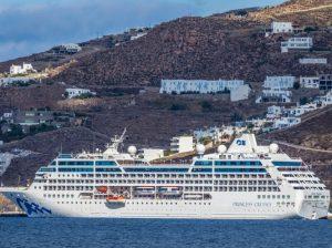 Princess Cruises vende la nave Pacific da 670 passeggeri