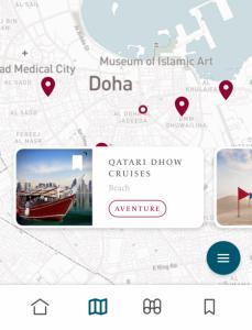 """""""Visit Qatar"""": una nuova app accompagna i turisti alla scoperta del Paese"""