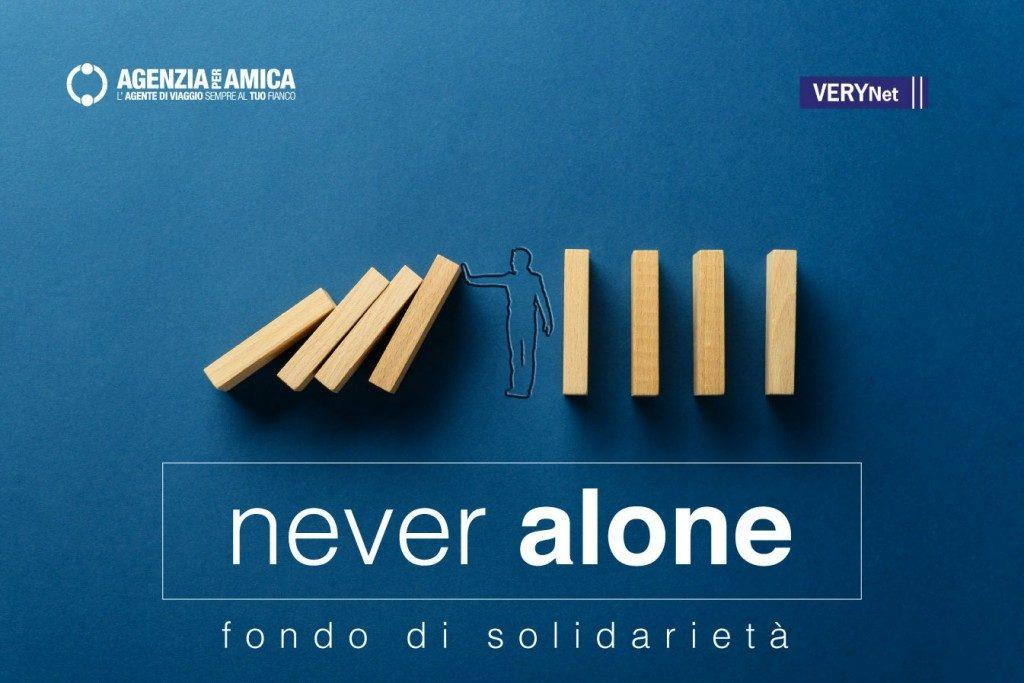 """Il network Agenzia per Amica lancia il fondo """"Never Alone"""""""