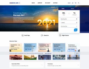 Korean Air rinnova sito web e app che diventano ancora più user-friendly