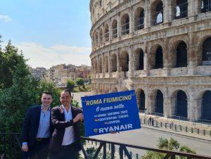 Ryanair raddoppia su Roma Fiumicino: sei velivoli basati e sei nuove rotte