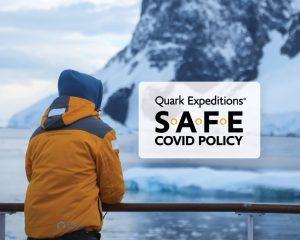 Nuovo protocollo Safe Covid Policy per le crociere Quark Expeditions