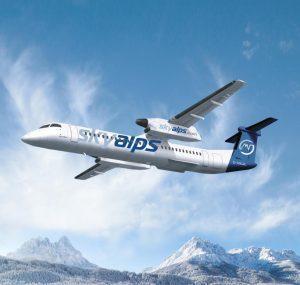 SkyAlps sigla un accordo con Chorus Aviation per il leasing di due Dash 8-400