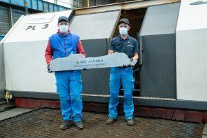 Al via la costruzione della Euribia: seconda nave a gnl della flotta Msc