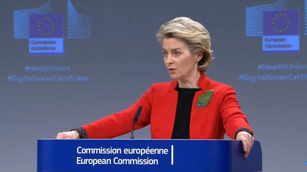 """Von der Leyen: """"Allentare le restrizioni per rilanciare il turismo in Europa"""""""