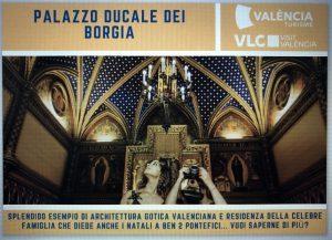 """Visit Valencia, con """"pic of the week"""" alla scoperta del Palazzo Ducale dei Borgia"""