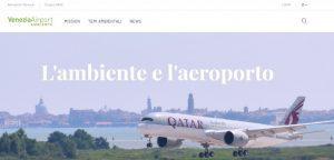 Aeroporto di Venezia: nuovo portale dedicato alla sostenibilità ambientale