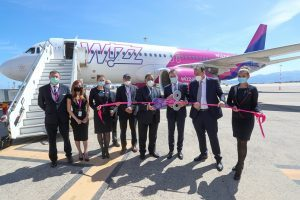 Wizz Air festaggia a Palermo: nuova base e sette nuove destinazioni
