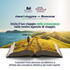 Bluvacanze con Università Pegaso e Mercatorum per la proposta formativa