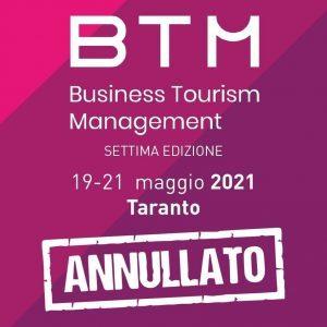 La manifestazione Btm Puglia 2021 è stata annullata