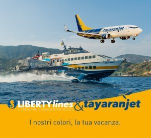 Liberty Lines – Tayaranjet: sconti sui pacchetti aereo più aliscafo verso le isole minori della Sicilia