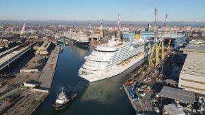 Costa Crociere amplia la sua flotta con Costa Firenze