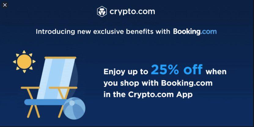 Booking.com: al via i pagamenti anche con le criptovalute
