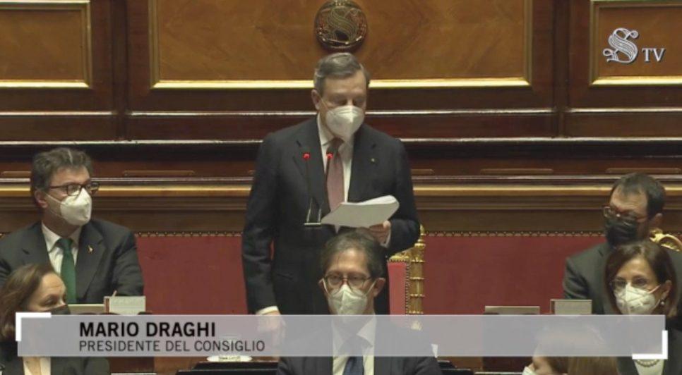 Draghi: «Rafforzare il turismo e aiutare le imprese e i lavoratori del settore»