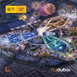 Flydubai omaggia tutti i suoi passeggeri con un biglietto gratuito per visitare Expo 2020 Dubai