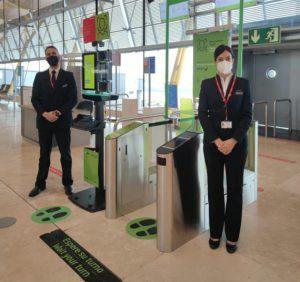 Iberia sperimenta a Madrid Barajas il riconoscimento facciale biometrico