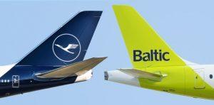 AirBaltic in codeshare con Lufthansa, dal prossimo 28 marzo