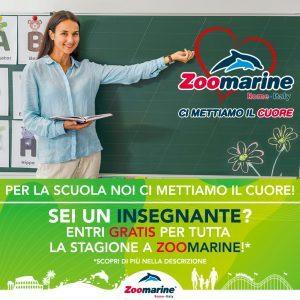 Zoomarine: gratuità per gli insegnanti durante la stagione