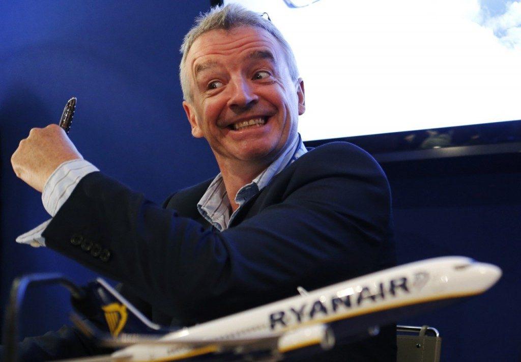 O'Leary: «Alitalia, Air France Lufthansa, sono compagnie insolventi»