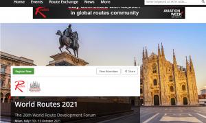 World Routes posticipato al 10-12 ottobre 2021, a Fiera Milano