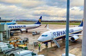 Ryanair: 5 milioni di passeggeri persi per il nuovo lockdown nel Regno Unito