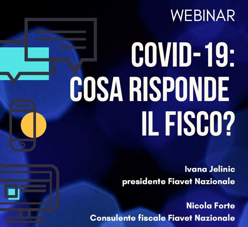 """Webinar Fiavet sulla fiscalità dopo il decreto """"Cura Italia"""": ecco la registrazione"""